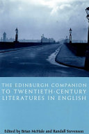 Edinburgh Companion to Twentieth Century Literatures in English