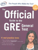 Pdf The Official Guide to the GRE General Test, Third Edition