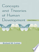 """""""Concepts and Theories of Human Development"""" by Richard M. Lerner"""