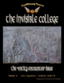 The Invisible College Magazine, 4th Edition