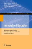 Immersive Education