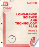 Long range Science and Technology Plan