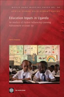 Education Inputs in Uganda