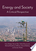 Energy And Society Book PDF