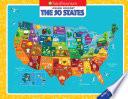 Jigsaw Journey Smithsonian  The 50 States