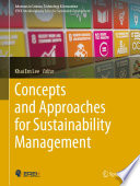 Concepts and Approaches for Sustainability Management Book