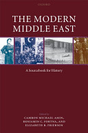 The Modern Middle East Book