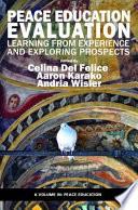 Peace Education Evaluation Book