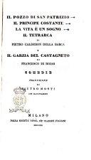 Il pozzo di San Patrizio di Pietro Calderon Della Barca