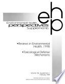 Reviews in Environmental Health  1998  Book