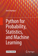 Python for Probability  Statistics  and Machine Learning