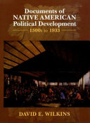 Documents of Native American Political Development