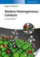 Modern Heterogeneous Catalysis Book