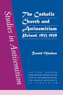 The Catholic Church and Antisemitism