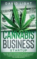 CANNABIS BUSINESS STARTUP