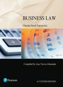 Cover of Business Law (Custom Edition)