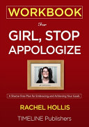 WORKBOOK For Girl  Stop Apologizing