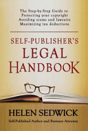 book cover - Self-publisher's legal handbook : the step-by-step guide to the legal issues of self-publishing