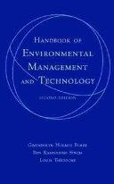 Handbook Of Environmental Management And Technology Book PDF