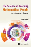 The Science of Learning Mathematical Proofs Book