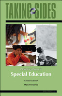 Taking Sides  Clashing Views in Special Education Book PDF