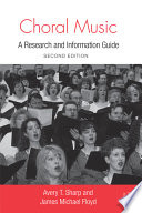 Choral Music Book