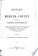 History of Mercer County