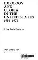 Ideology and Utopia in the United States, 1956-1976 ebook