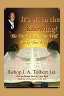 It's all in The Knowing Pdf/ePub eBook