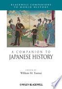 A Companion to Japanese History