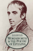 Wordsworth and the Poetry of Epitaphs Pdf/ePub eBook