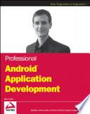 Professional Androidtm Application Development Book PDF