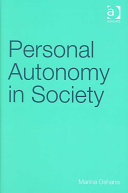 Personal Autonomy in Society