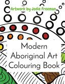 Modern Aboriginal Art Colouring Book