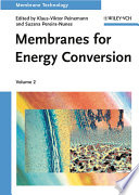 Membranes for Energy Conversion Book