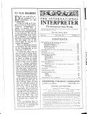 The International Interpreter