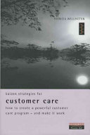 Kaizen Strategies for Customer Care Book