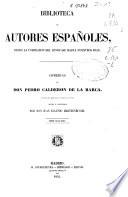 Comedias de don Pedro Calderón de la Barca  : colección más completa que todas las anteriores , Volume 2