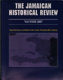The Jamaican Historical Review Book PDF