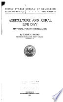 Agricultural Instruction In The High Schools Of Six Eastern States