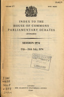 The Parliamentary Debates  Hansard  Official Report