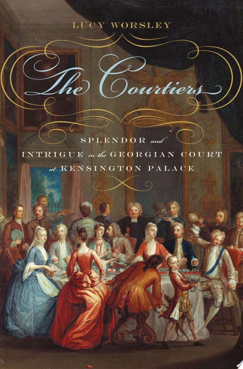 The Courtiers banner backdrop