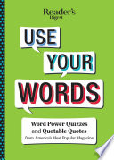 Reader s Digest Use Your Words