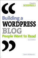 Building a WordPress Blog People Want to Read ebook