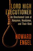Lord High Executioner Pdf/ePub eBook