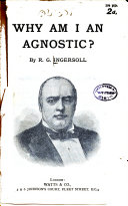 Why Am I an Agnostic