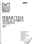 Permuted Medical Subject Headings Book
