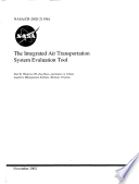 The integrated air transportation system evaluation tool