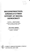 Reconstruction, America's First Effort at Racial Democracy