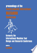 Twenty-seventh International MATADOR (Machine Tool Design & Research) Conference